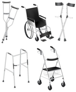 supporting equipment or tool for disable people